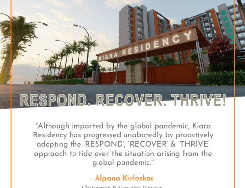 Kiara Residency's Answer to the Pandemic – Respond, Recover & Thrive